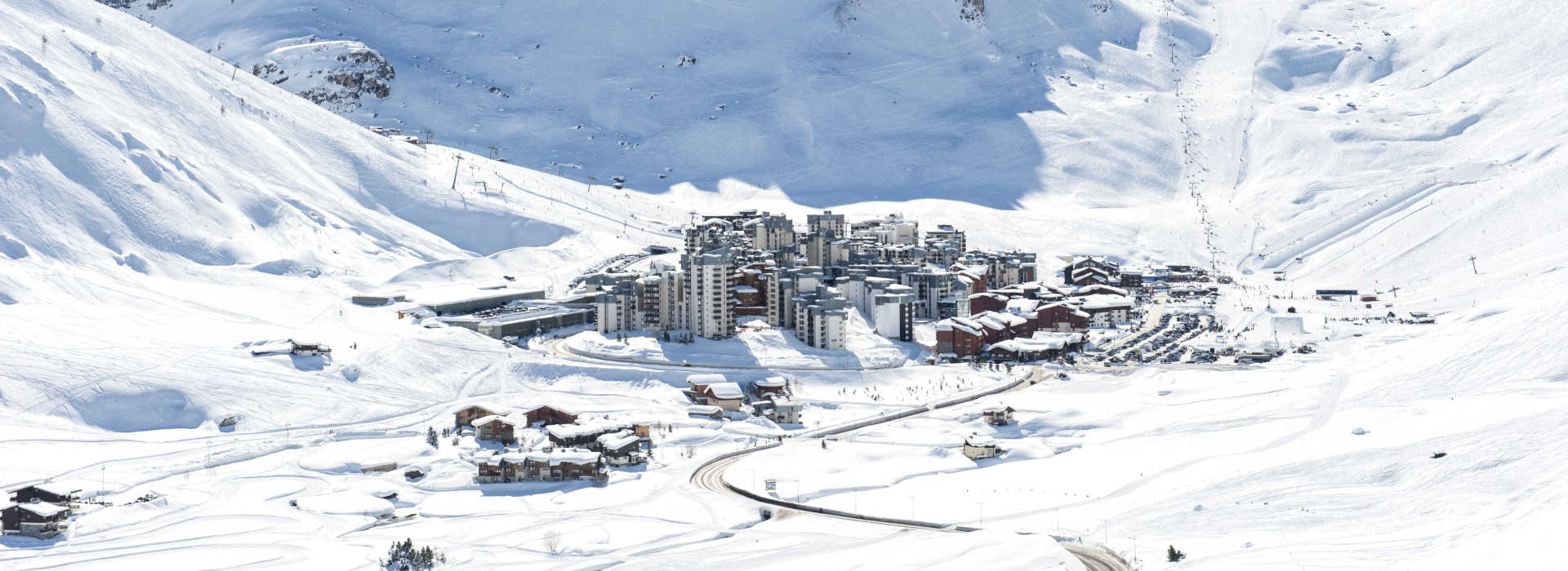 Ski resort Tignes